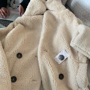Free People Teddy Coat